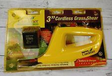 AMERICAN GARDENER 3-INCH GRASS SHEAR GS36 3.6 VOLT CORDLESS sealed