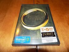 THE LORD OF THE RINGS FELLOWSHIP OF THE RING Extended 2 Disc Edition DVD NEW