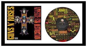 GUNS N' ROSES - MEMORABILIA - VINYL RECORD LYRIC ART & COVER - Limited Edition