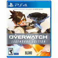 Overwatch Legendary Edition Bonus Content 15 Hero Skins PS4 Game - Brand New