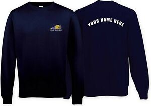 Fishing club Sweatshirt with customised logo! Rear text also available! Design 3