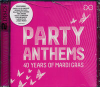 Party Anthems 40 Years Of Mardi Gras 2-disc CD NEW Cher Sia Soft Cell