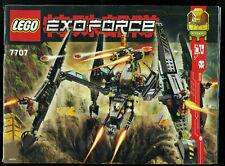 LEGO -- 7707 -  Nur Bauanleitung -- EXOFORCE --