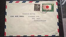 Japan 1975 USA-Reise des Kaisers Bedarfsbrief