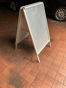 A1 A Board Pavement Sign, Snap Frame Display Stand, Folding Shop Advertising
