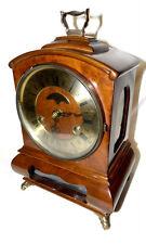 Warmink WUBA Vintage Mantel Shelf Dutch clock 8 day table like Hermle striking