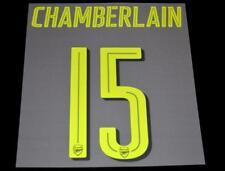 Arsenal Chamberlain 2016/17 Champions League/FA Cup football shirt Name set T