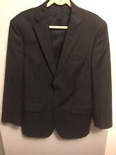 JOS A BANK Men's Black Wool Blazer Two Button Sport Jacket Size 41 Regular