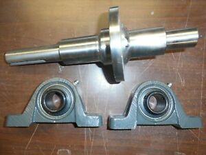 Promark 16D Stump Grinder Shaft with Bearings