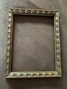 Vintage Wood Carved Frame Germany Fits 12 X 16 Inches