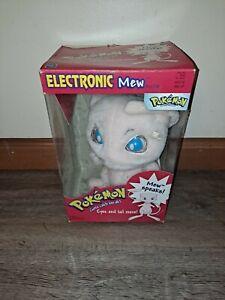 Pokemon Electronic Mew Hasbro -Plush