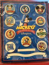 Disney Disneyland Resort MICKEY'S AWARDS CLUB   10 Pin Set