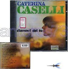 """CATERINA CASELLI """"DIAMOCI DEL TU"""" RARO CD - SIGILLATO"""