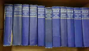 Library for Young People/P F. Collier & Son - 1903 Hardcover 1st Edition 13 bks