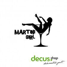Martini Girl // Sticker JDM Aufkleber Frontscheibe