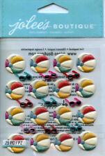 "Jolee's Boutique ""BEACH BALLS"" Dimensional Scrapbooking Sticker - AA19"