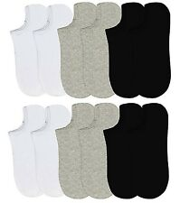 6-12 Packs Ankle Cool Socks Sport Mens Women Size 9-11 No Show Lot #70033DNWT