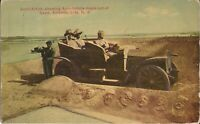 Atlantic City, NEW JERSEY - Sand Sculpture of Automobile - 1910