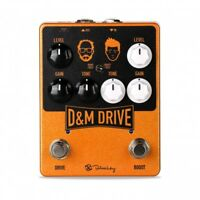 Keeley D&M Drive Overdrive Guitar Effects Pedal
