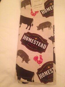Sonoma Life + Style Homestead Supply Co Animal Theme Kitchen Towel; Tan, Multi