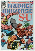 Official Handbook of the Marvel Universe #11 (Nov 1983) S-U Thor Thing Sunfire c