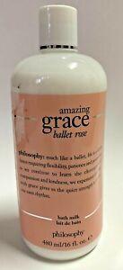 Philosophy Amazing Grace Ballet Rose Bath Milk NEW 16fl oz