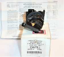 EATON CUTLER HAMMER E34VTBL1 SELECTOR SWITCH 4 POSISION SERIES A1 NEW IN BOX