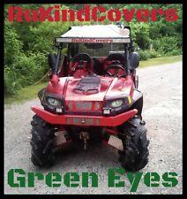 Polaris Ranger RZR  HULK GREEN Eyes HeadLight Covers RUKINDCOVERS