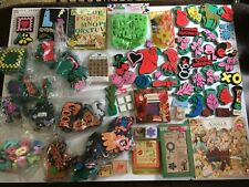 Foam and Rubber Stamp Estate Craft Supply Lot #7