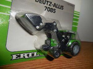 ERTL 1/64 TRACTOR DEUTZ ALLIS 7085 W LOADER FARM TOY NIP
