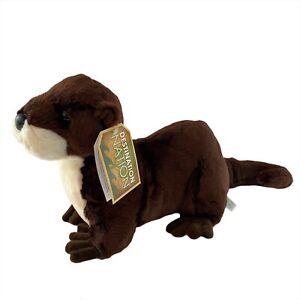 Aurora Destination Nation River Otter Plush Brown Soft Stuffed Animal FREE SHIP