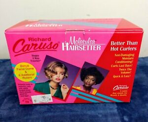 NIB Vintage Richard Caruso Molecular Hairsetter Steam Rollers Curlers, Pageant