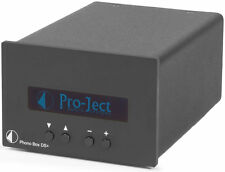 PRO-JECT PHONO BOX DS + DS+ PLUS BLACK PREAMPLIFICATORE PHONO MM MC NUOVO