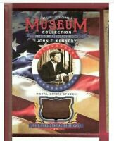 JOHN F KENNEDY JFK Brief Case RELIC CARD 2019 GOODWIN MUSEUM PRESIDENT SPEECH