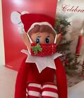 Mini cute mask for your little Elf and Vaccine certificate