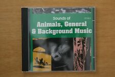 Sounds Of Animals, General , & Background Music   (C164)