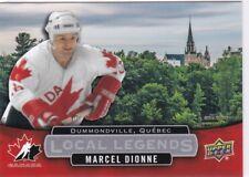 Marcel Dionne 2017 Upper Deck Team Canada Juniors, Local Legends !!