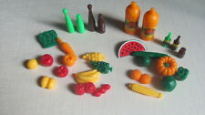 Barbie Size Dollhouse Furniture Miniature Fruit Veggie and Food NEW