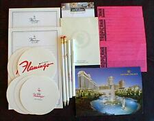Casino Memorabilia Lot of 17 Iterms Flamingo - Caesars - Tropicana Las Vegas Nv