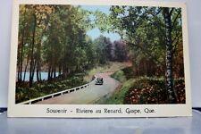Canada Quebec Gaspe Riviere Au Renard Postcard Old Vintage Card View Standard PC
