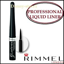 RIMMEL GLAM'EYES PROFESSIONAL LIQUID EYELINER 001 BLACK GLAMOUR - 3.5ml