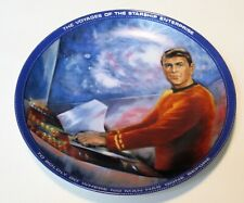 Star Trek Scotty From The Hamilton Collection Plate 1983 Very Good Condition