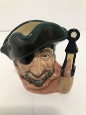 Royal Doulton Small Character Jug Toby Smuggler D6619 Retired 1981 Excellent