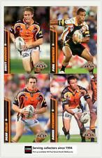2007 Select NRL Champions Card Base Team Set-TIGERS (12)