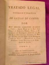 TRATADO LEGAL TEORICO Y PRACTICO DE LETRAS DE CAMBIO (TOMO I)