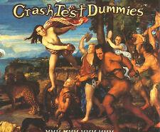CRASH TEST DUMMIES Mmm w/ SUPERMAN's  LIVE 3TRX Europe CD single USA Seler SEALD