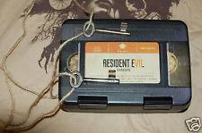 CAPCOM Resident Evil BIOHAZARD 0 1 2 3 4 5 6 7 VII ANTIQUE KEYS VHS BOX T-SHIRT