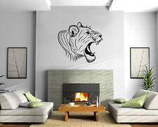 Bengal Tiger Head Asian Great Cat TRIBAL DECOR Wall MURAL Vinyl Art Sticker M388