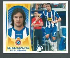 ESTE 2009/2010 3A SERGIO SANCHEZ ESPAÑOL BAJA  CROMO DIFICIL AGOTADO EN PANINI