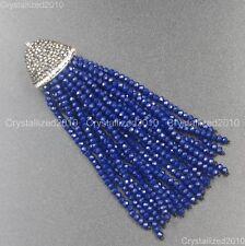 Nuevo diamantes de imitación de cristal checo Borla Recortar Apliques de Fabricación de Joyería Encanto Colgante